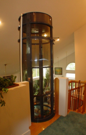 Daytona elevator residential elevators home elevators for Small elevator for home price
